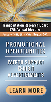 Patron and Marketing Opportunities for TRB's 97th Annual Meeting