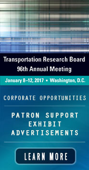 Patron and Marketing Opportunities for TRB's 96th Annual Meeting
