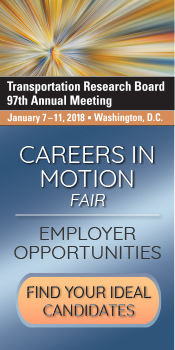 Career Fair at TRB's 97th Annual Meeting